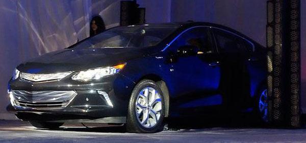 General Motors продемонстрировал Chevrolet volt