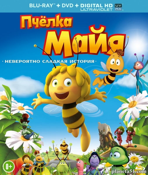 Пчёлка Майя / Maya the Bee Movie (2014/BDRip/HDRip)
