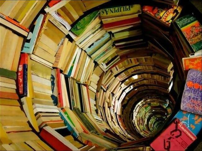 тоннель из книг