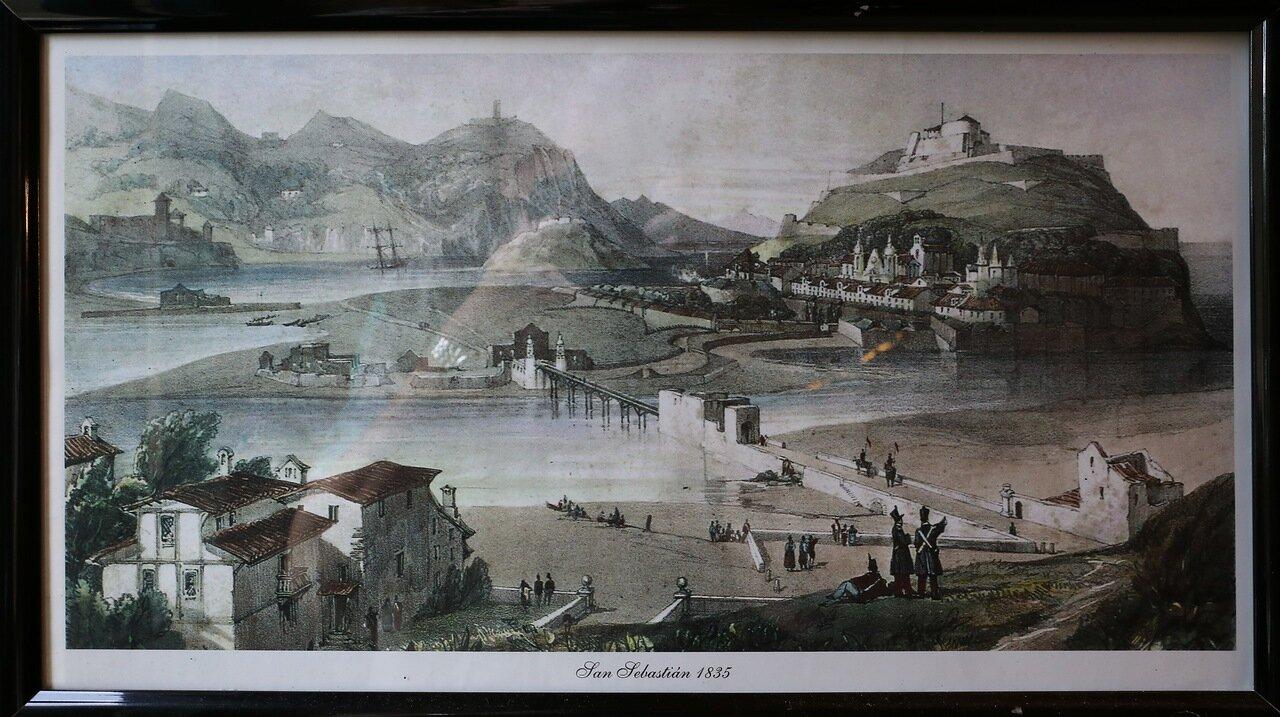 Доностия-Сан-Себастьян. Экспозиция в башне Игельдо
