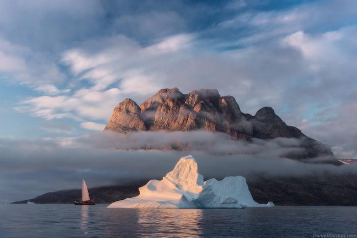 В Гренландии.