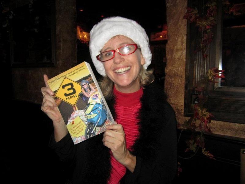 4. Полли Летофски путешествовала 5 лет ради благотворительности Собирая пожертвования на лечение рак