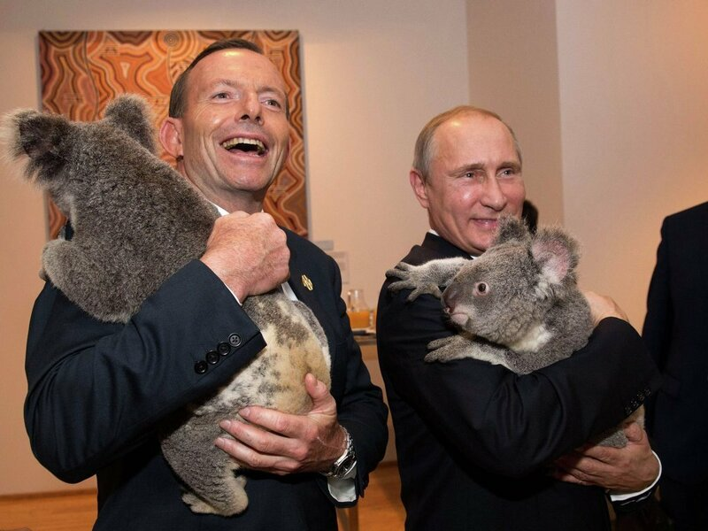 Владимир Путин в Брисбене (фотоотчёт)