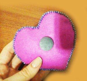 Магнит-валентинка