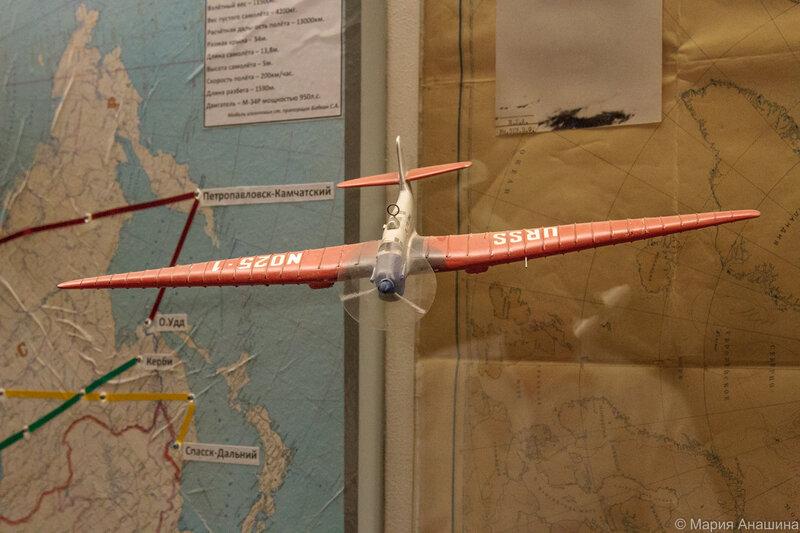 Макет самолета АНТ-25
