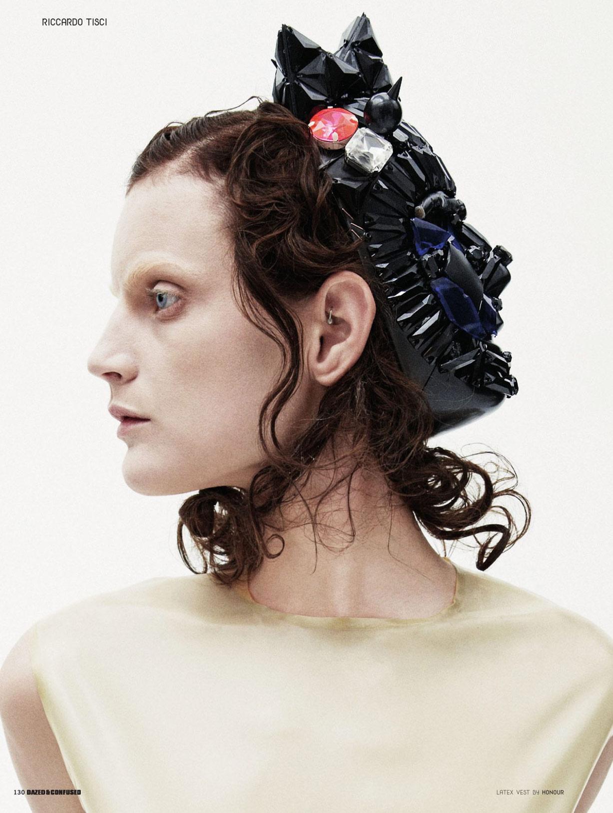 Franken-Fashion - Женевье ван Синус / Guinevere van Seenus by Daniel Jackson in Dazed & Confused october 2009 / Make Me A Monster