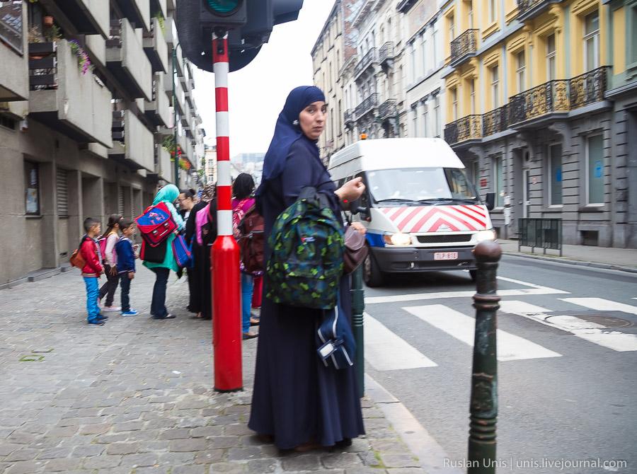 Лица Брюсселя