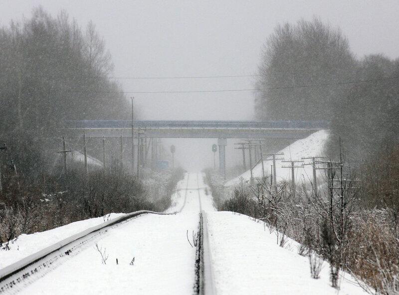 Перепад высот на перегоне Мелихово-Рождествено