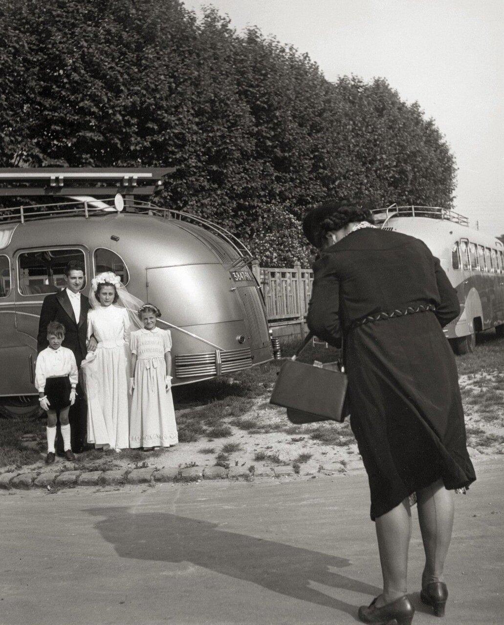 1946. Фото на память