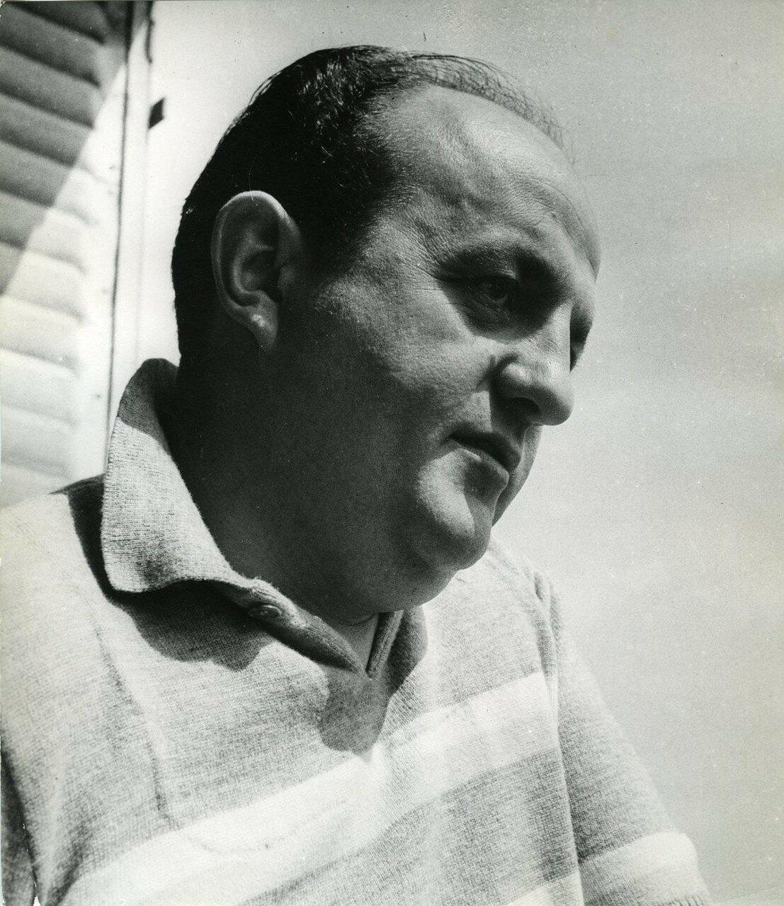 1960. Портрет Бернара Блие