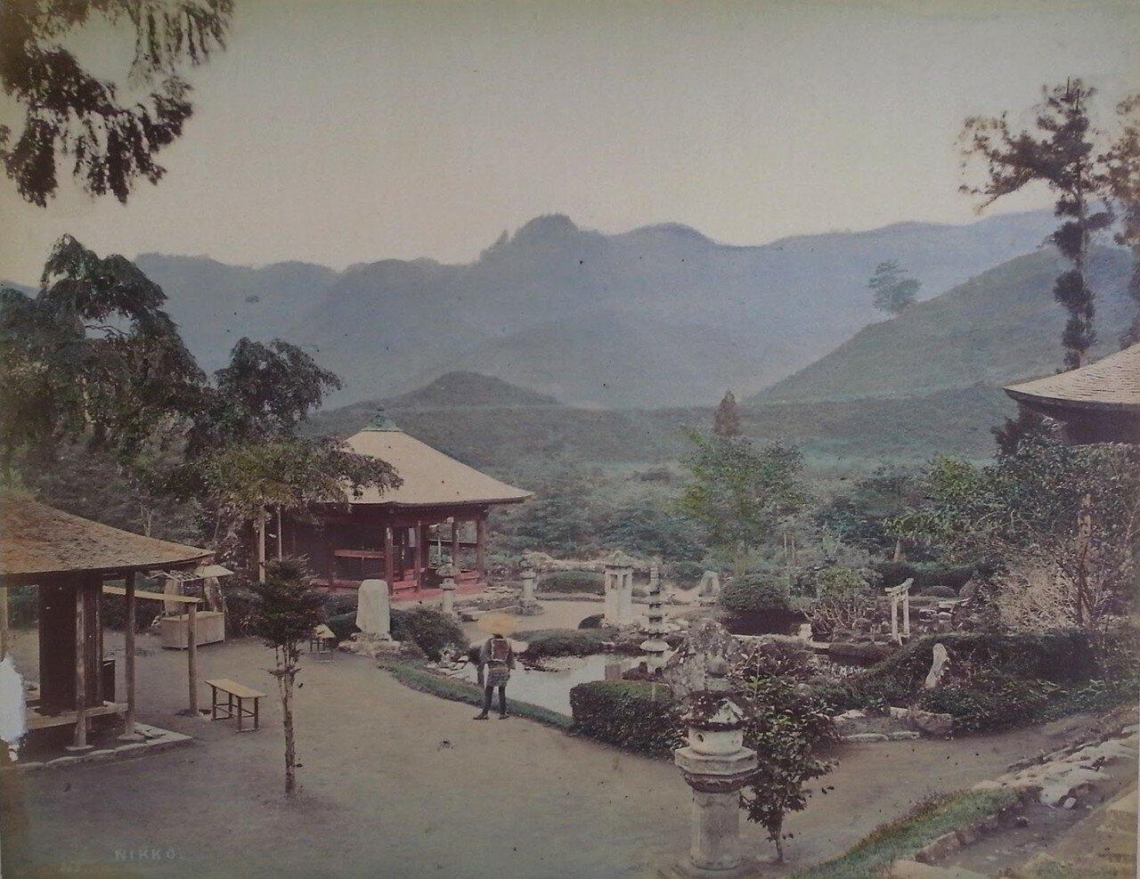 Храмовый сад в Никко