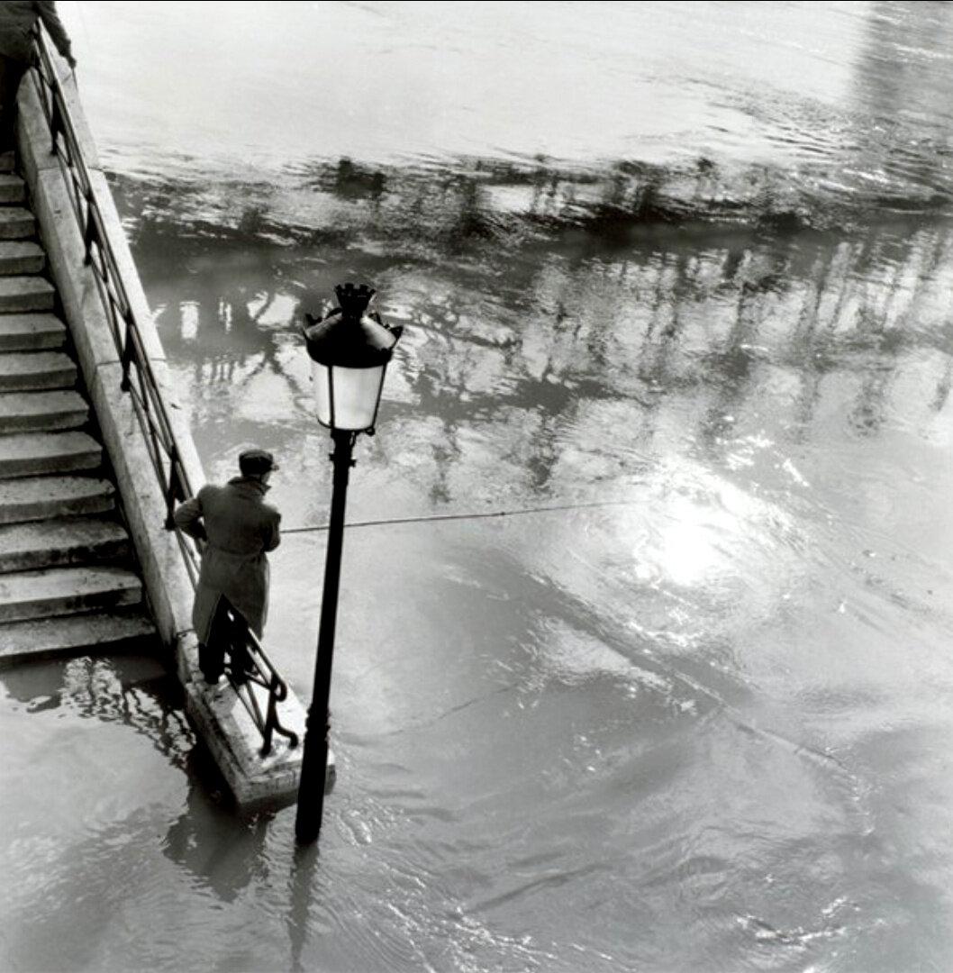 1958. Сена вышла из берегов