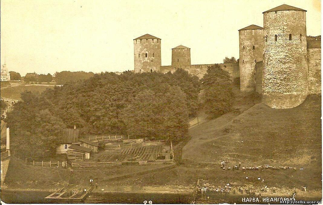 Западные ворота крепости