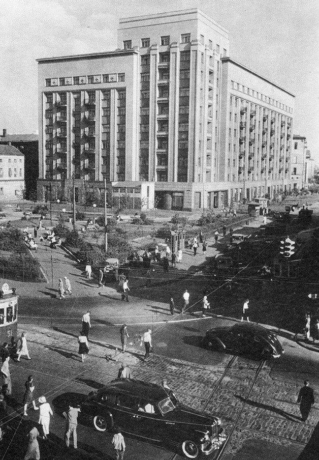 1950-е. Садовое кольцо