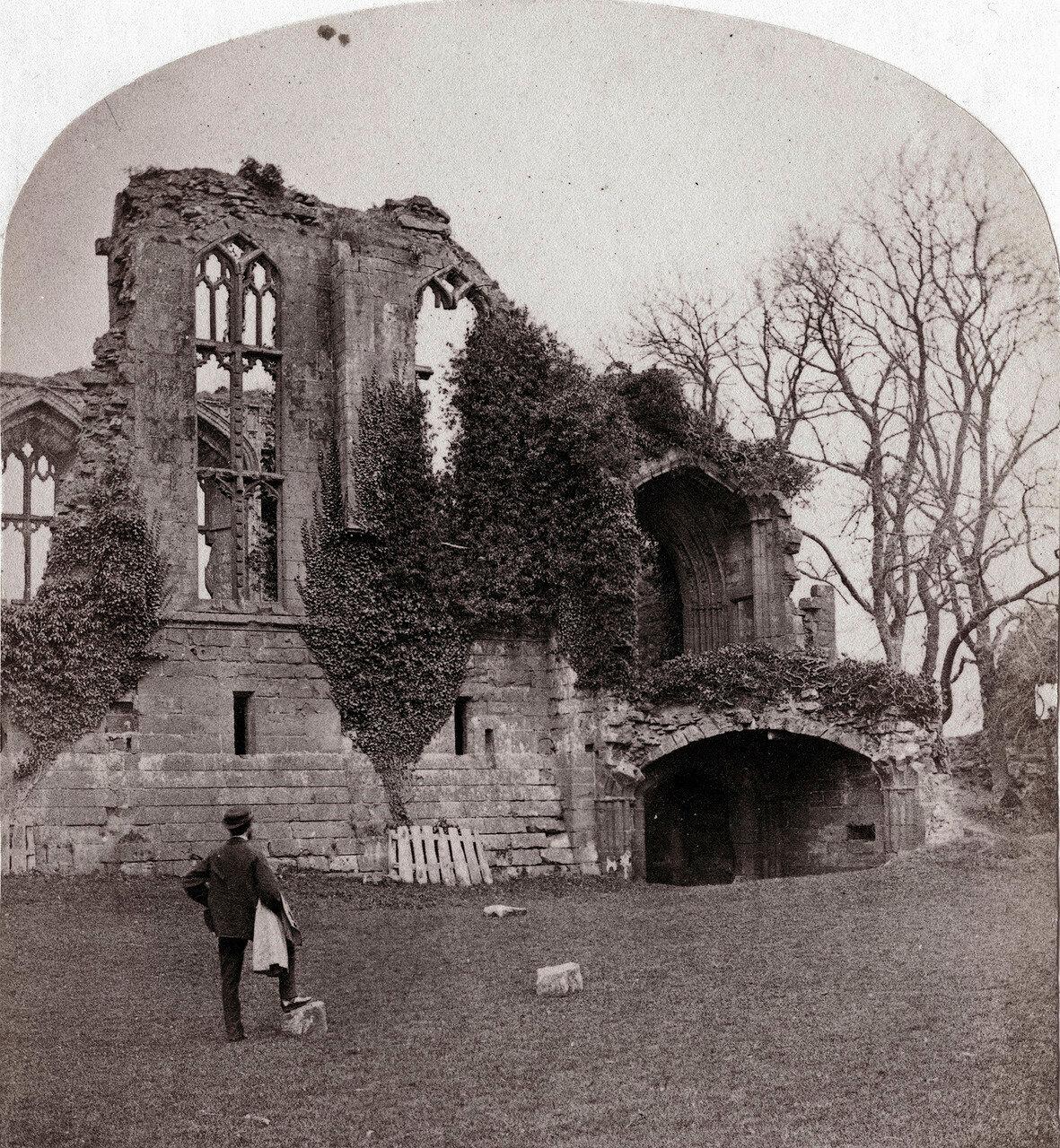 Замок Кенилуэрт, башня. Великобритания, 1864