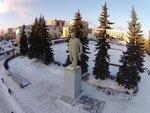 Памятник Ленину на площади Победы в Первоуральске