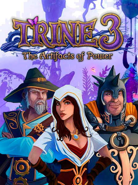 Trine 3: The Artifacts of Power (2015/RUS/ENG/MULTi12/Full/Repack)