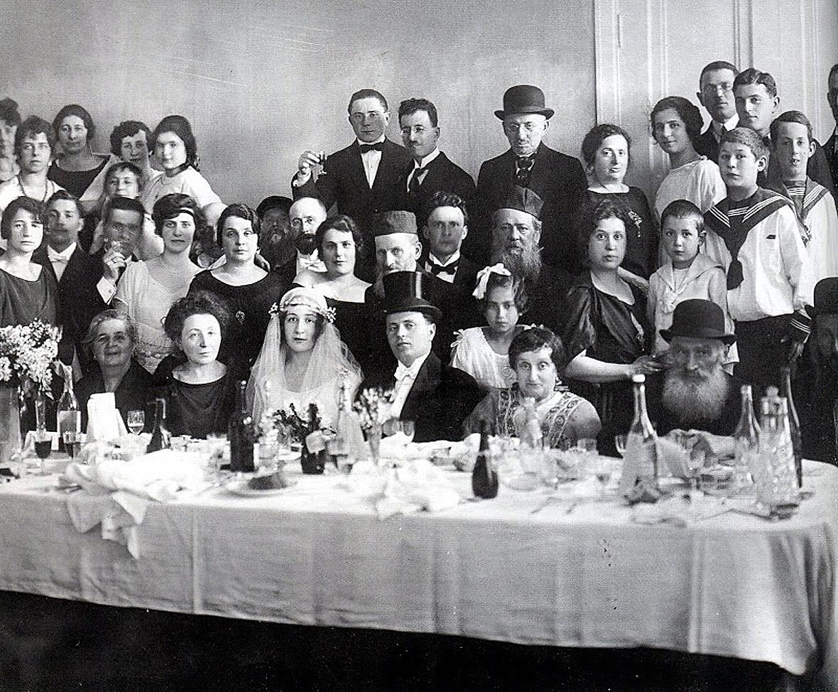 Еврейская свадьба, 1900-е, Санкт-Петербург