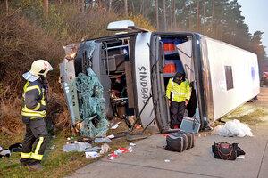 В Германии произошло ДТП с автобусом – 4 человека погибло