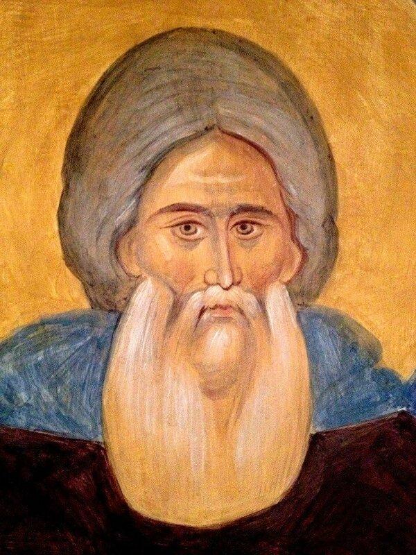 Святой Преподобный Сергий Радонежский. Иконописец А. Н. Солдатов.