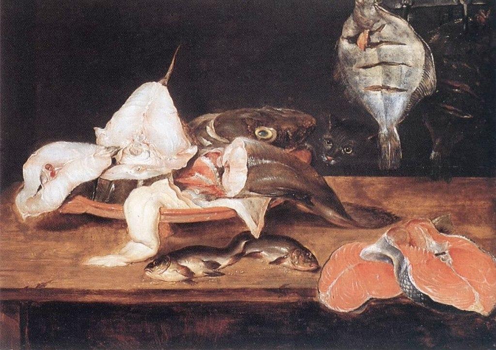 "Александр Ариадсен. ""Тихая жизнь с рыбой / Still-Life with Fish"""