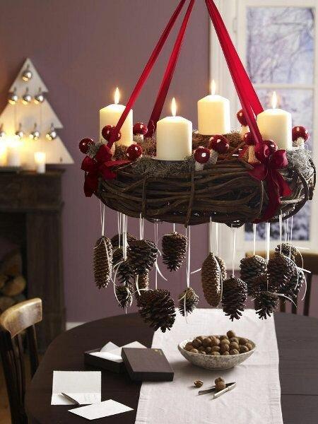 Рождественские подвески своими руками