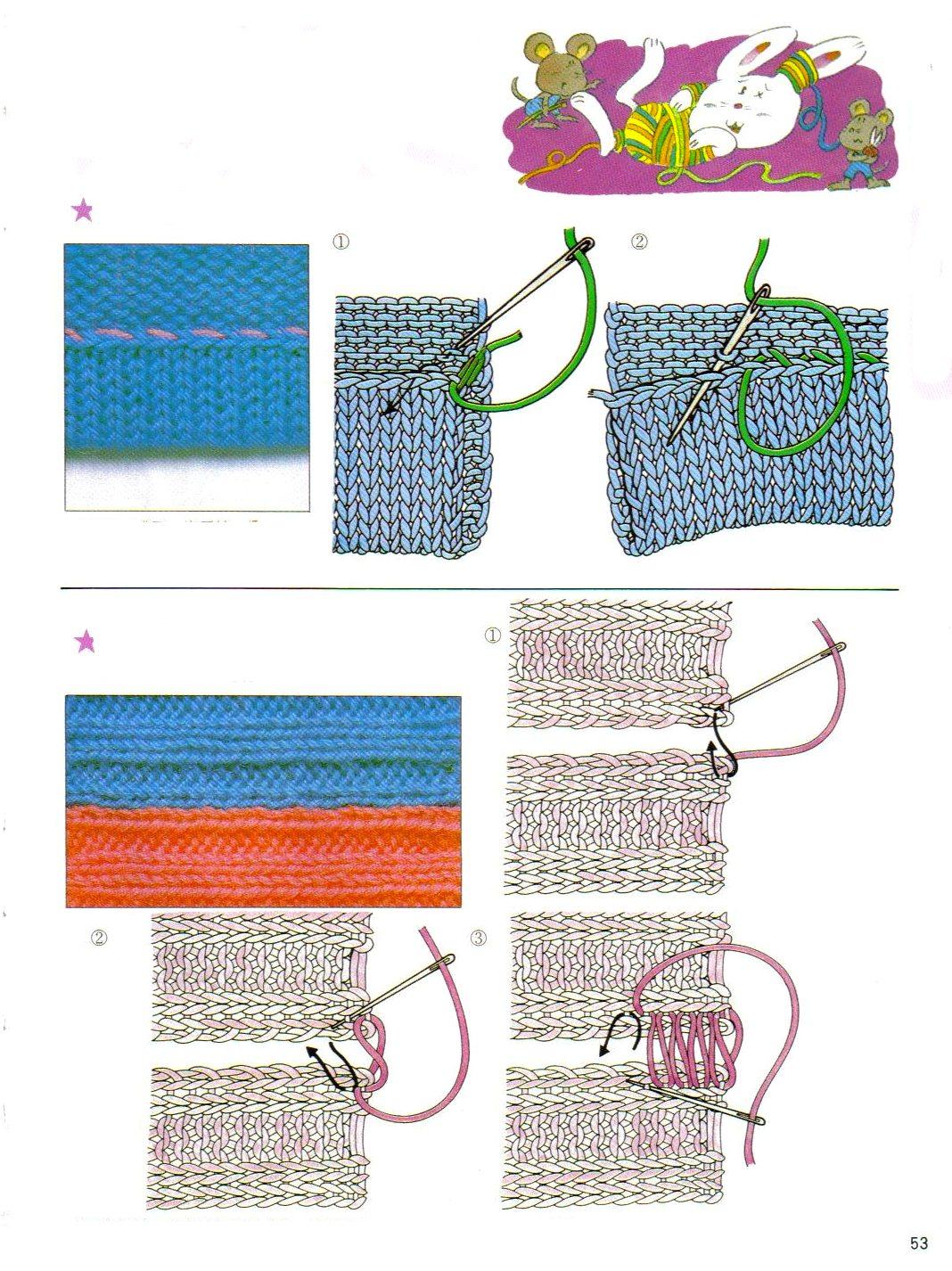 Вязание крючком и спицами в картинках 239