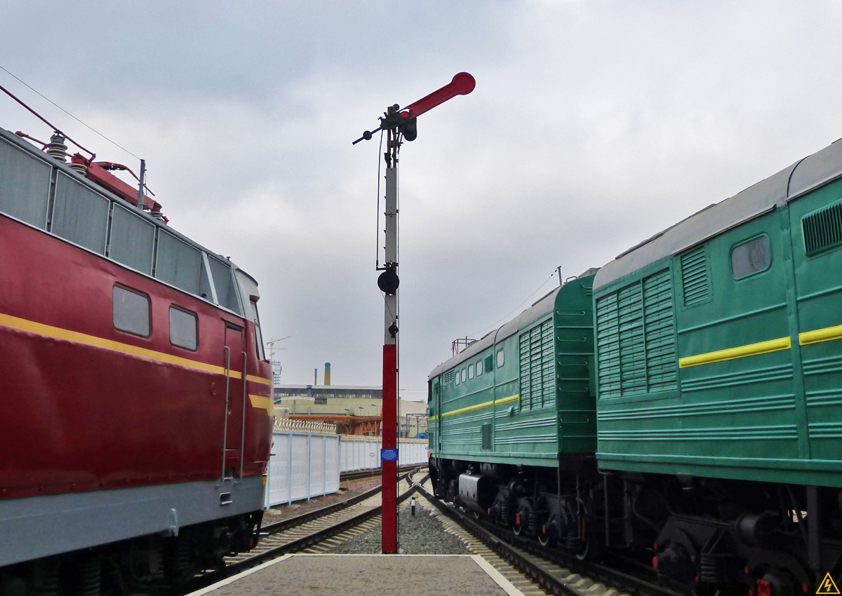 Музей железнодорожного транспорта в Киеве