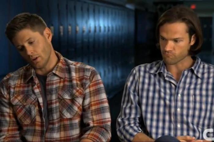 Фотографии на съемочной площадке эпизода 10.05 Сверхъестественного