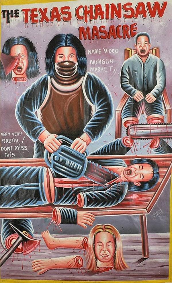 Смешные самодельные киноафиши из Африки