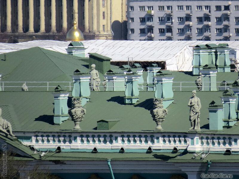 Крыша Зимнего дворца