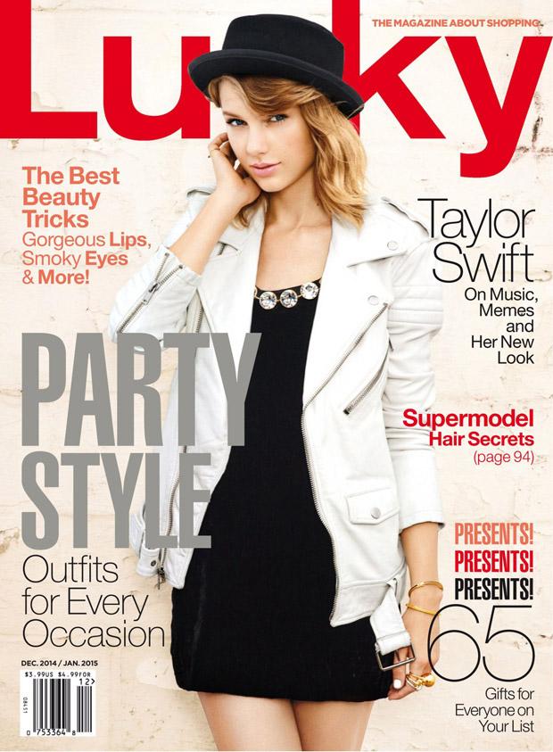 Тейлор Свифт (Taylor Swift) в журнале Lucky