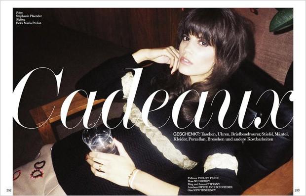 Антонина Петкович (Antonina Petkovic) в журнале Interview Germany (8 фото)