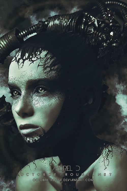 Мистические портреты девушек