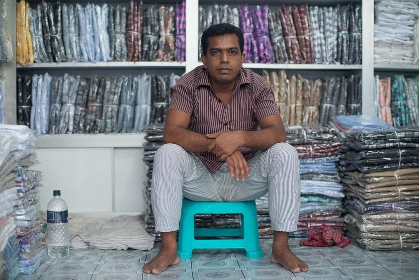 Оптовый продавец в Дакке.
