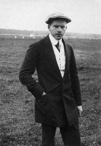 Авиатор, участник перелёта Г.В.Янковский, занявший второе место