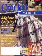 Журнал Crochet world №10 2006