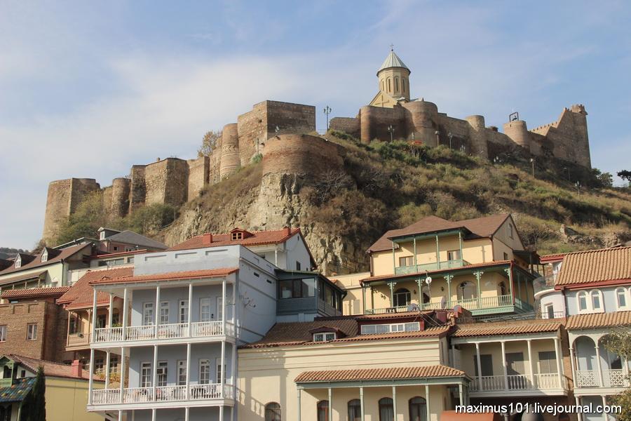 Тбилиси и его крепость Нарикала