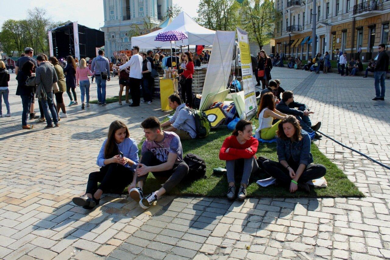Фестиваль социальных инноваций UCRAZYANS киев софиевская площадь