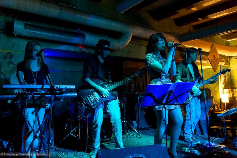 Выступление группы Radio TEQUILA