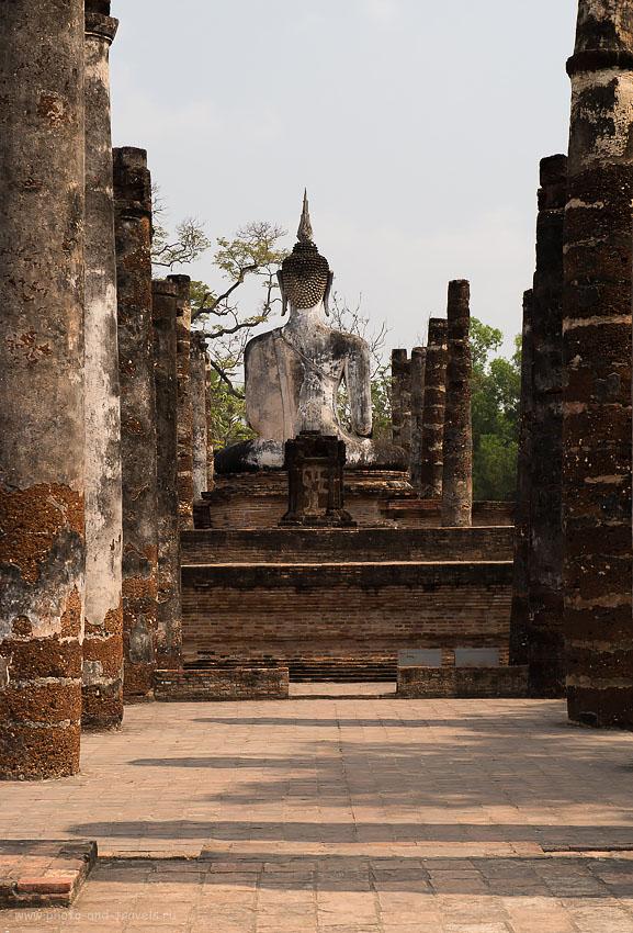 Фотография 18. Будда. Отзывы туристов о посещении  исторического парка Сукхотай в Таиланде.