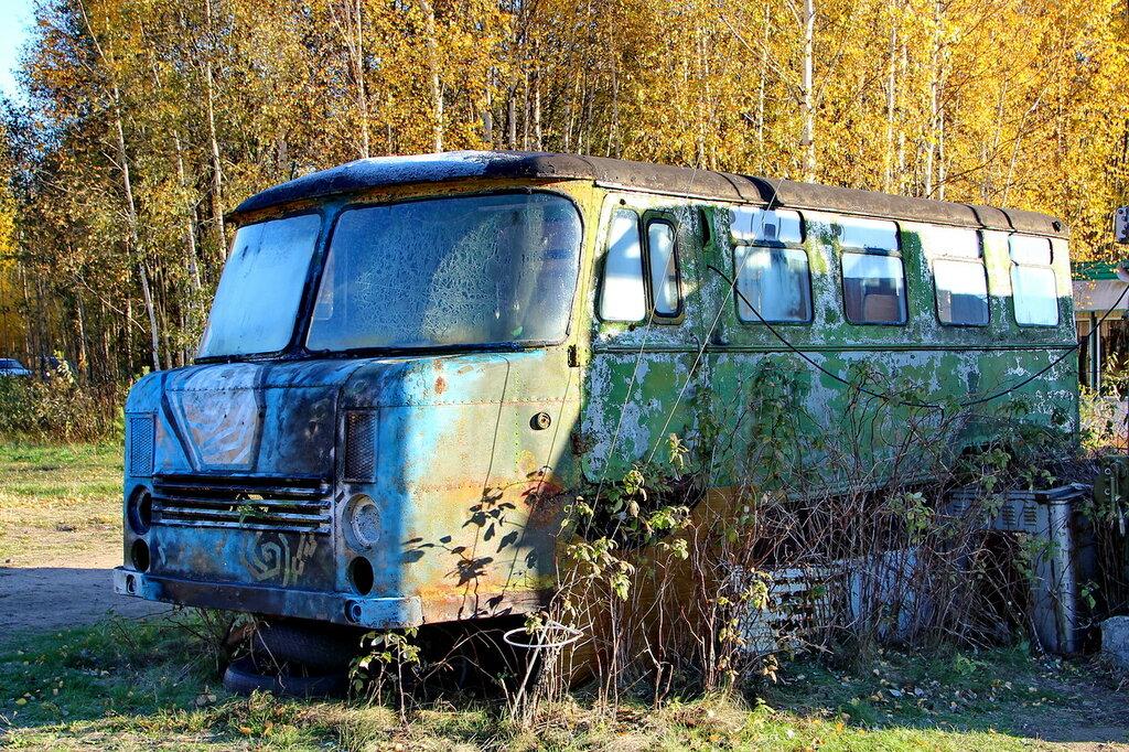 Многоцелевой автобус 38АС вагонной компоновки на автомобиле ГАЗ-66-04. 1976 год.