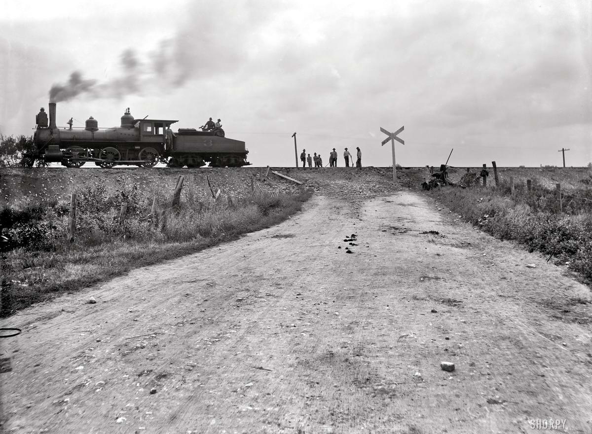 Железные дороги конца 19-го - начала 20-го века на снимках американских фотографов (34)