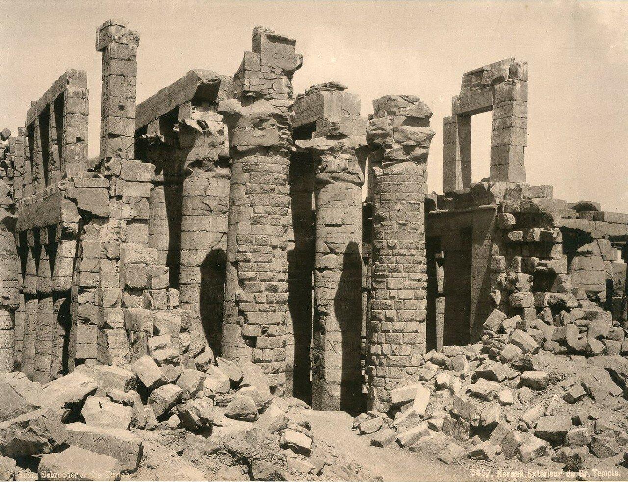 Карнак. Великий Храм. 1900-е