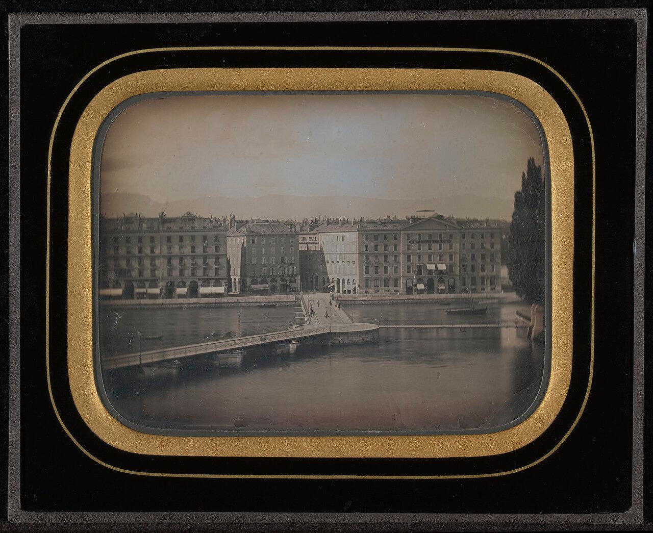 1847. Вид Женевы