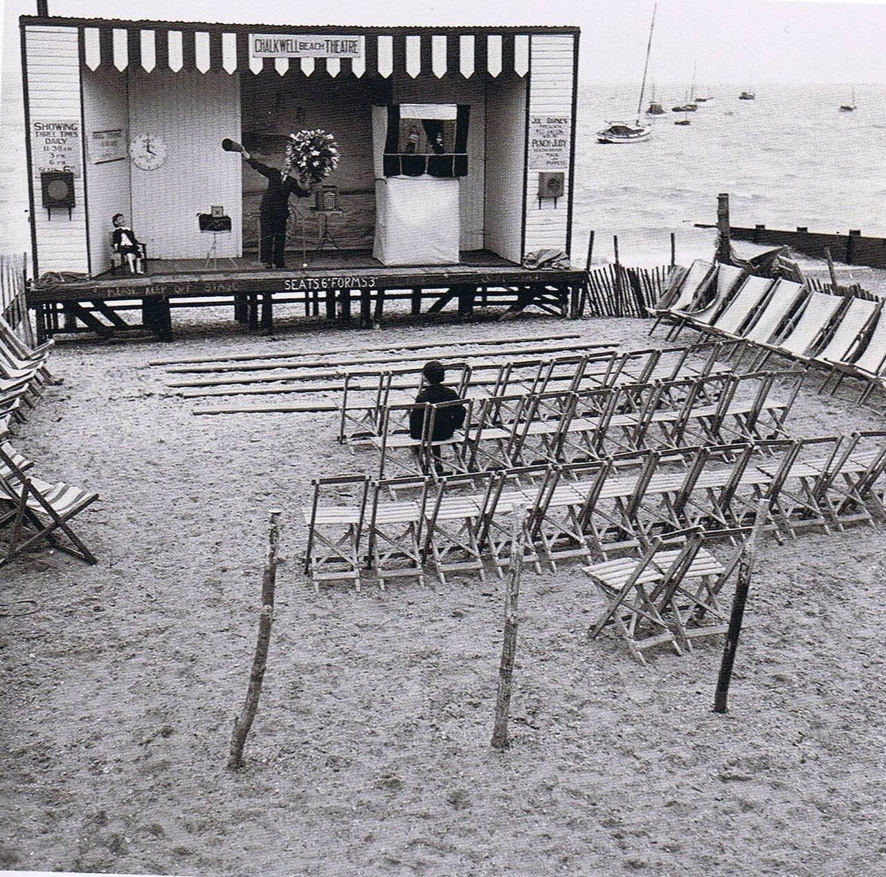 1950. Одинокий и потерянный. Пляж Чалкуэлл
