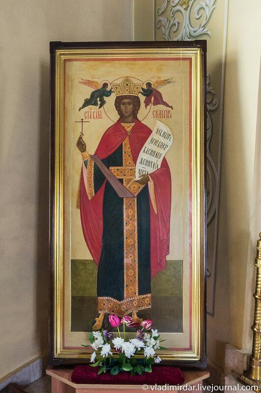 Икона святой Екатерины в Свято-Екатерининском монастыре