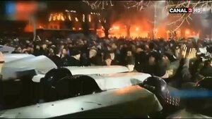 В Армении прошли антироссийские беспорядки