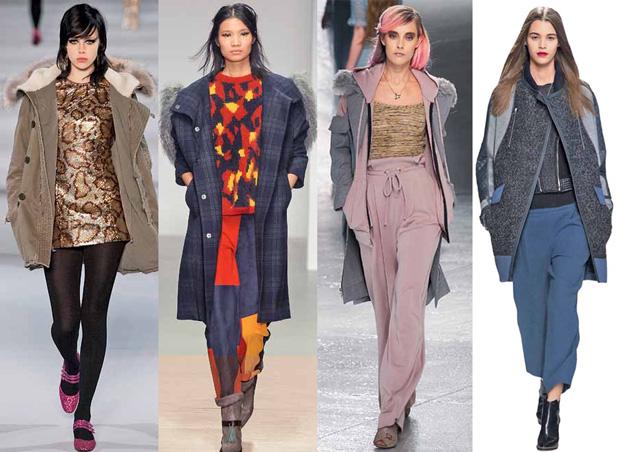 Верхняя одежда для мужчин и женщин зима 2015