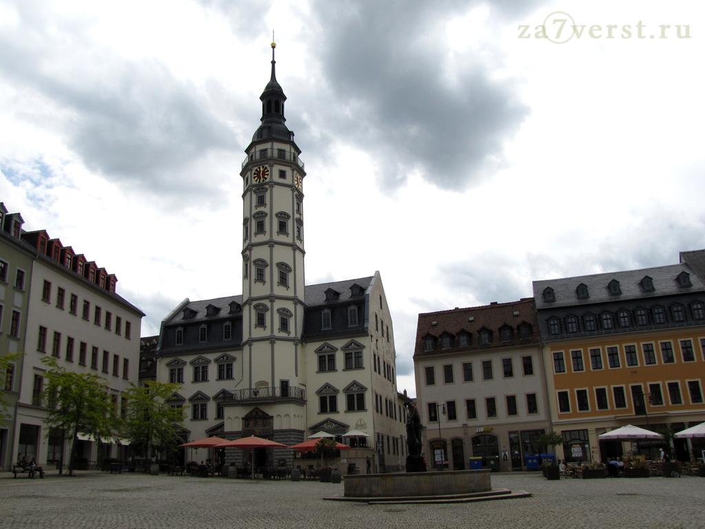 Ратушная площадь, Гера, Германия